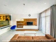 Gorgeous design serviced apartment in District 2 for rent