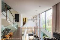 Super luxury villa located in the prestigious District 2 for rent