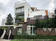 Innovative design with superb living space villa for rent located in prestigious District 2