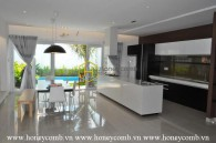 Superb design villa with a range of modern amenities for rent in Thao Dien – District 2