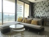 Căn hộ thiết kế đầy tinh tế cùng nội thất hiện đại cho thuê tại Diamond Island