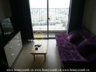 Simple 1 bedroom apartment in Masteri Thao Dien for rent