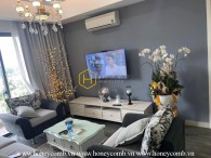 Apartment for rent in Masteri 3 bedroom with modern furniture
