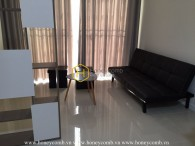 Semi-furnished apartment with stunning view for rent in Palm Heights
