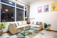 Well-designed and vintage apartment for rent in Sai Gon Pearl