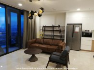 You can surely expect the best with this great apartment in Vinhomes Golden River for rent