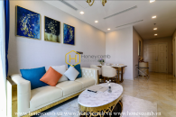 Enjoy sunny morning by river in this charming and glorious apartment in Vinhomes Golden River
