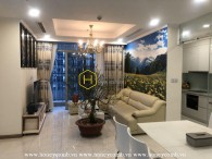 Unique architecture with stunning design apartment for rent in Vinhomes Central Park