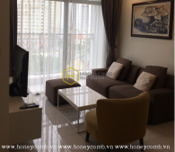 Brand new apartment with high-end interior for rent in Vinhomes Central Park