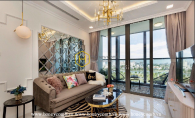 Such a high-end aparment with royal layouts for rent in Vinhomes Landmark 81