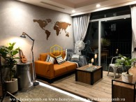 Artistic design with cozy atmosphere apartment for rent in Vinhomes Central Park