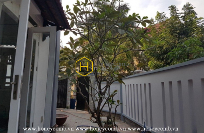 Large living space villa compound for rent in Tran Nao – District 2