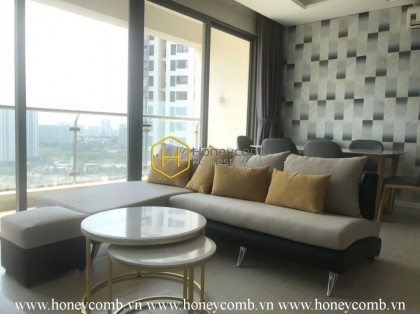Subtle design with comtemporary interior apartment for rent in Diamond Island