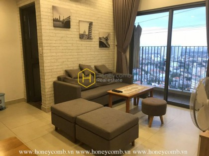 Nice furnished 2 bedrooms apartment in Masteri Thao Dien