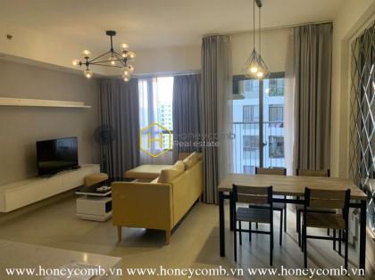 Masteri Thao Dien 2 bedroom apartment with high floor
