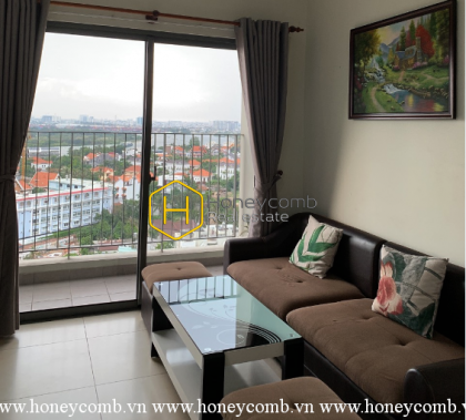 Simple 2 bedroom apartment with river view in Masteri Thao Dien