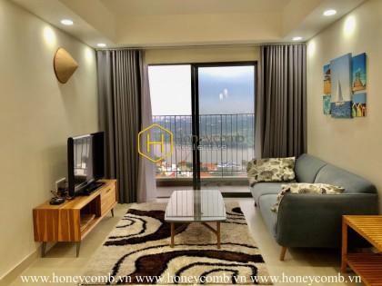 The adorable 2 bedroom-apartment with smart design from Masteri Thao Dien