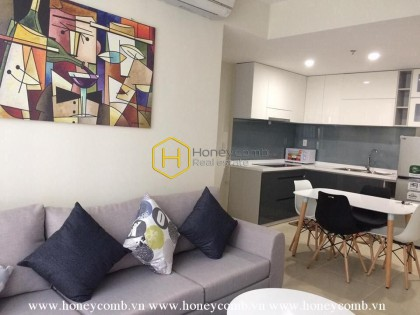 Artistic layout apartment for rent in Masteri Thao Dien