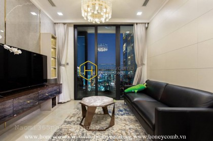 Charming apartment with stunning interior in Vinhomes Golden River for rent