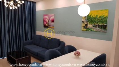 A whole new shiny living space in this apartment at Vinhomes Golden River for rent