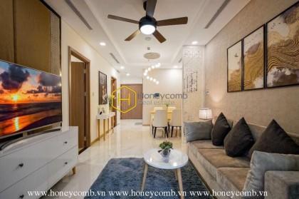 Splendid with 2 bedrooms apartment in Landmark 81 for rent