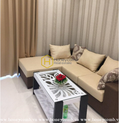 Open view apartment with moderate price is available for rent in Vinhomes Central Park