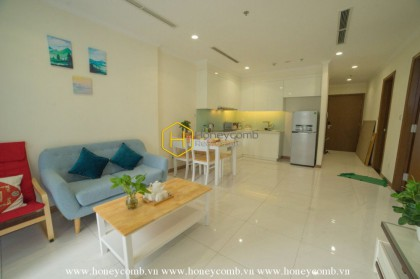 Perfectly designed for family living space apartment in Vinhomes Central Park for lease