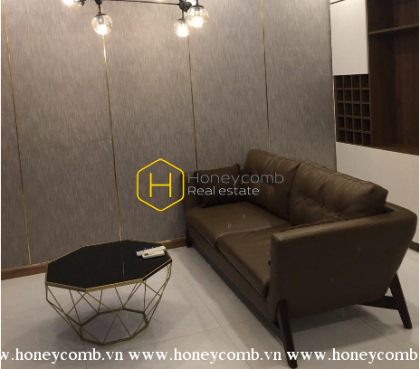 Simplified design apartment in Vinhomes Central Park for rent