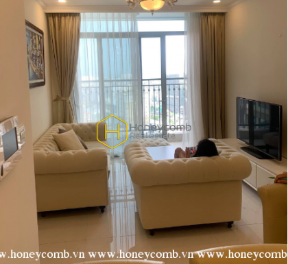 Simple lifestyle with this elegant apartment for rent in Vinhomes Central Park