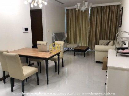 All new furnishings in this beautiful apartment for rent in Vinhomes Central Park