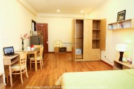 Rarely Available ! This studio serviced apartment with dedicated style and the ideal price is for rent in District 1