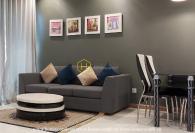 Nội thất đầy đủ với căn hộ 1 phòng ngủ cho thuê tại Vinhomes Central Park