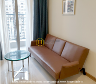 You can not take eyes off this splendid apartment with brilliant interiors in Vinhomes Central Park