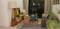 Phong cách đặc biệt với căn hộ 2 phòng ngủ cho thuê tại The Ascent Thảo Điền
