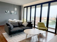 A sophisticated apartment inspired by Scandinavian style in D'Edge