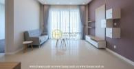 Căn hộ Estella Heights 2 phòng ngủ với lầu cao cho thuê