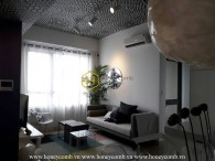 Beautiful floral decorated 2 bedrooms apartment in Masteri Thao Dien for rent