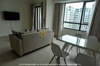 Masteri Thao Dien 2 beds apartment with high floor