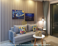 What a bright and impressive 2 bedroom-apartment at Masteri Thao Dien !