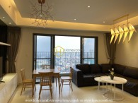 The 3 bed-apartment with fully furnished , well-lit and fascinating design at Masteri Thao Dien