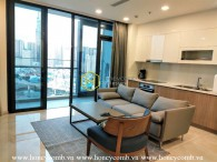 The appealing and cozy 3 bed-apartment from Vinhomes Golden River