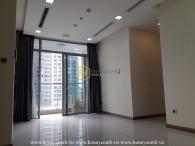 Cho thuê căn hộ chưa nội thất tọa lạc ở vị trí đắc địa tại Vinhomes Central Park