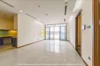 Elegant layout in this unfurnished apartment for rent in Vinhomes Central Park
