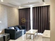 Vinhomes Central Park apartment opens a romantic view
