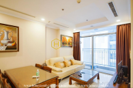 A Vinhomes Central Park apartment which provides you an airy and open space