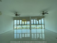 Design your home in this unfurnished home with cozy hue layout and airy river view in The Vista