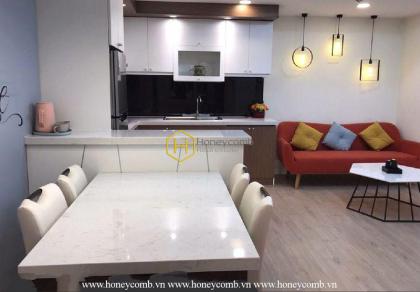 Luxury 2 bedrooms apartment in Masteri Thao Dien for rent