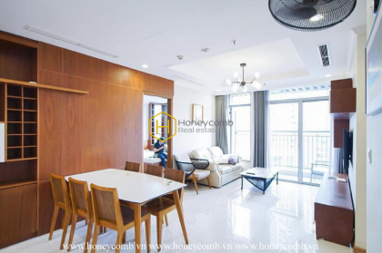 Best choice – Cozy & Shiny apartment with affordable price in Vinhomes Central Park