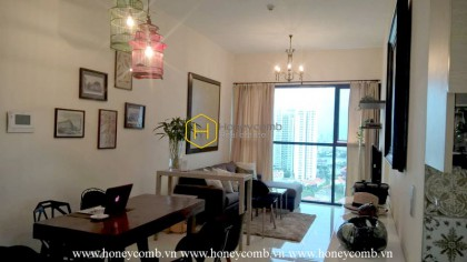 The Ascent Thao Dien 2 bedroom apartment with high floor for rent