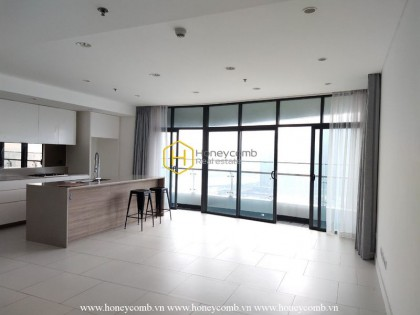 Share your uniqueness in this airy apartment at City Garden